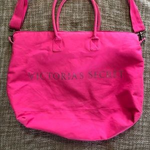 Victoria's Secret Duffel Bag Hot Pink
